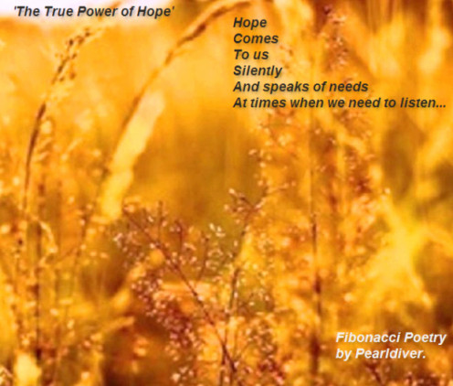 Hope Comes - Copyright © 2012 - 2013 Pearldiver Poetry with all rights reserved.