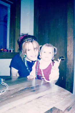 Me & my oldest at the time this took place