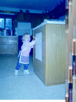 my oldest when she was a toddler