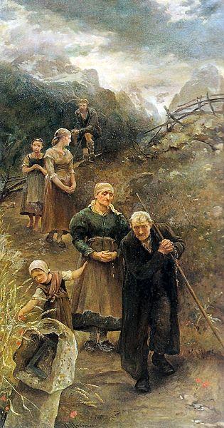 Prayer's Walk Mansel Lewis United States public domain