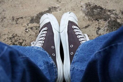 my Jack Purcell shoe, 2008