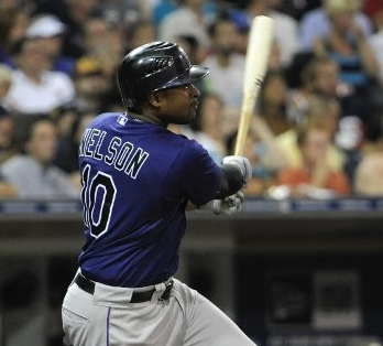 Chris Nelson of the Colorado Rockies