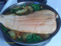Healthy Fish Recipe:  Mediterranean Salmon