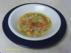 Chicken Noodle Soup Recipe:  Step by Step Instructions