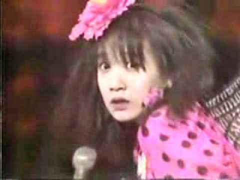 Jun Togawa in a pink insect dress