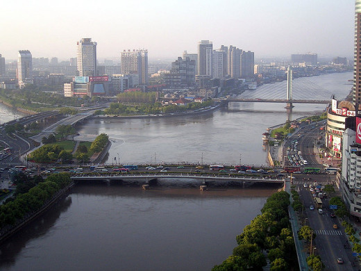 Ningbo, Zhejiang, China (Taken April 19, 2007 by Jiong Sheng from Winchester, United Kingdom)