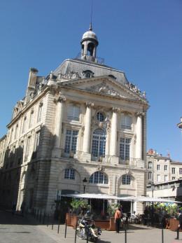 Le Gabriel, view from the Place de la Borde