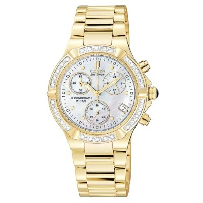 Ladies | Chronograph | Diamonds | Mother-of-Pearl