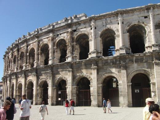 Arénes de Nimes (Roman amphitheater)