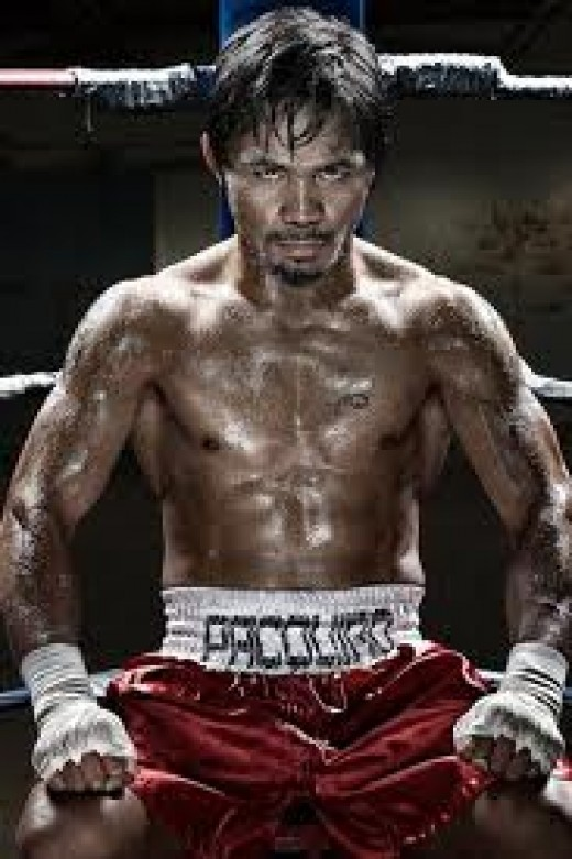 The PAC Man has destroyed many boxers in the ring including Miguel Cotto, Ricky Hatton and Oscar De La Hoya.