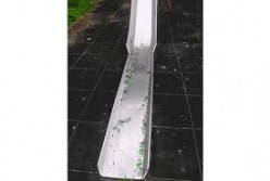 Glass on slide