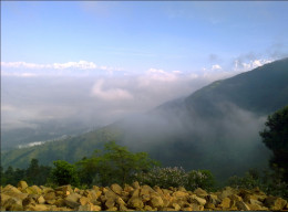 Annapurna range as seen from Manakamana Temple