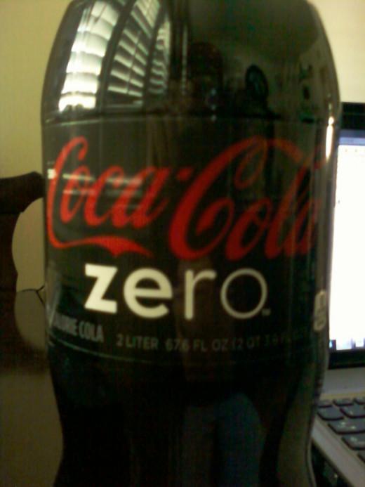 Coke Zero (2 liter)