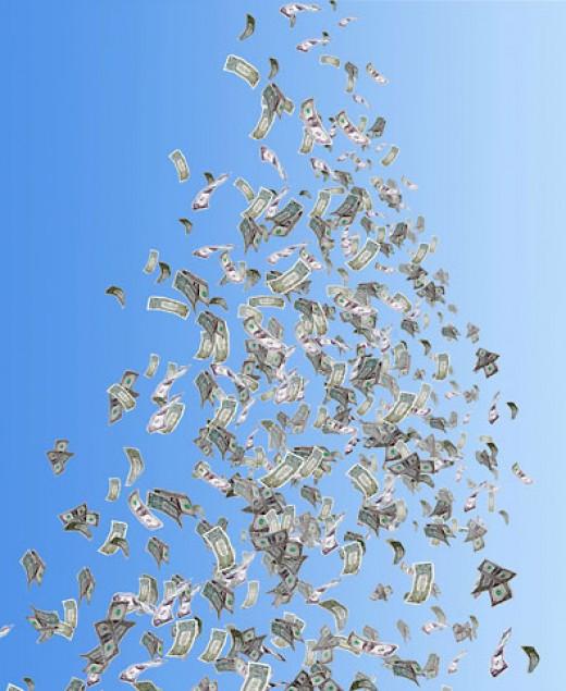 Money Ascending to Heaven
