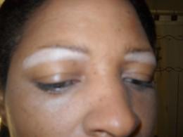 Concealer, Under eye and brow bone