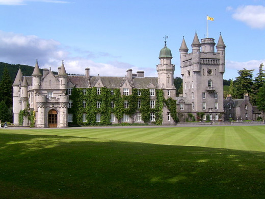 Balmoral Castle, summer home of HM Queen Elizabeth II, is just outside Aberdeen.