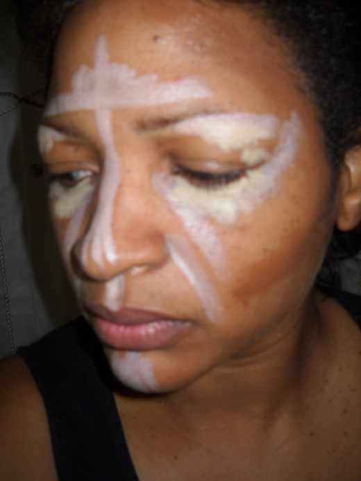 Contouring, highlighting and concealing
