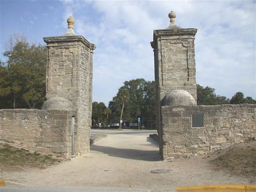 City Gates of Saint Augustine, FL