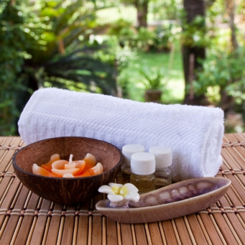 Natural fiber bath towels are kind to your skin and the environment.