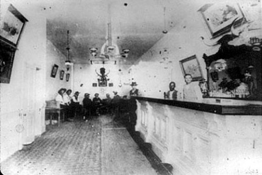 The original Long Branch Saloon