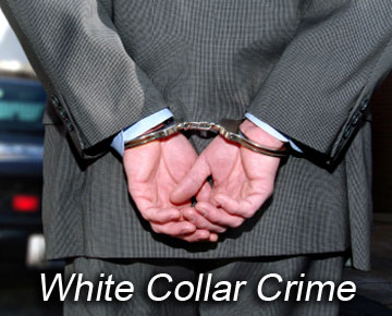 White collar crimes are committed by respectable and distinguished people of the society.