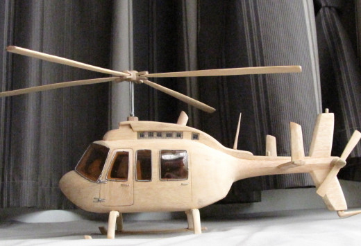 Helikopter with amazing detail