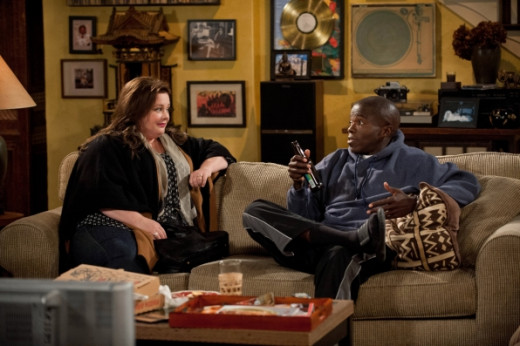 "Scene from ""Mike and Molly"""