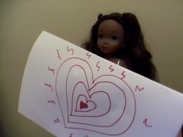 """""""I will make my creepy but cute Stalker Doll stalk one of your friends!"""""""
