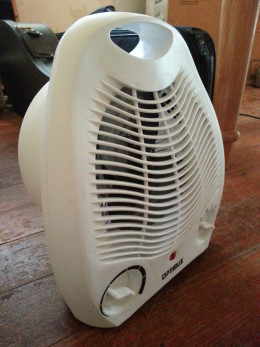 Use an area heater to keep the rooms you are in warm without wasting energy on unused parts of the house.