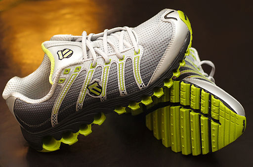 K-Swiss Tubes Run 100 running shoe.
