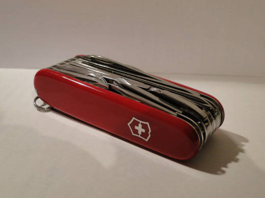 Victorinox SwissChamp closed.