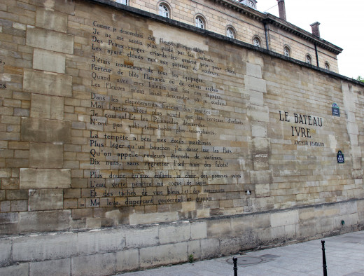 Wall literature, Paris