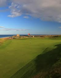 Golf course, Bamburgh - while away the hours across the greens
