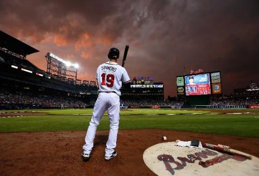 Andrelton Simmons of the Atlanta Braves