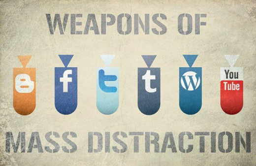 Distractions Are Fun - But Hurt In The Long Run