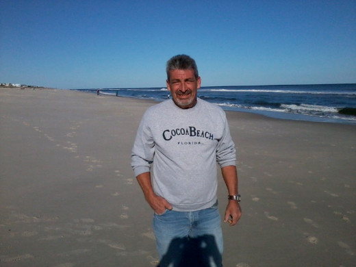 HERE I AM STANDING ON THE BEACH IN SHIP BOTTOM, LONG BEACH ISLAND DAYS BEFORE HURRICANE SANDY DESTROYED THE ISLAND