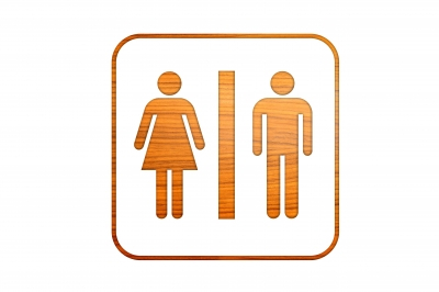 Public washrooms often contain potentially dangerous bacteria.
