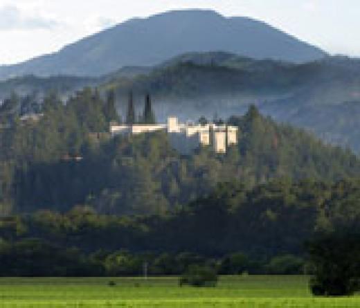 Sterling Vineyards, St Helena, ca