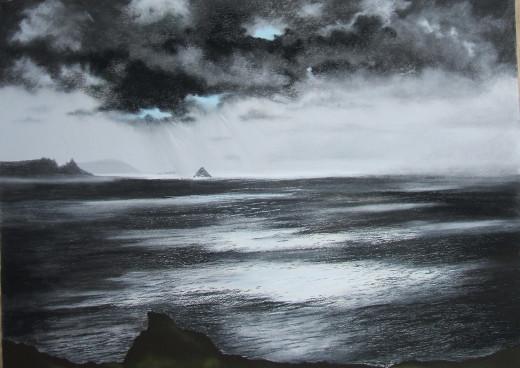 Atlantic Light From Tintagel Cornwall