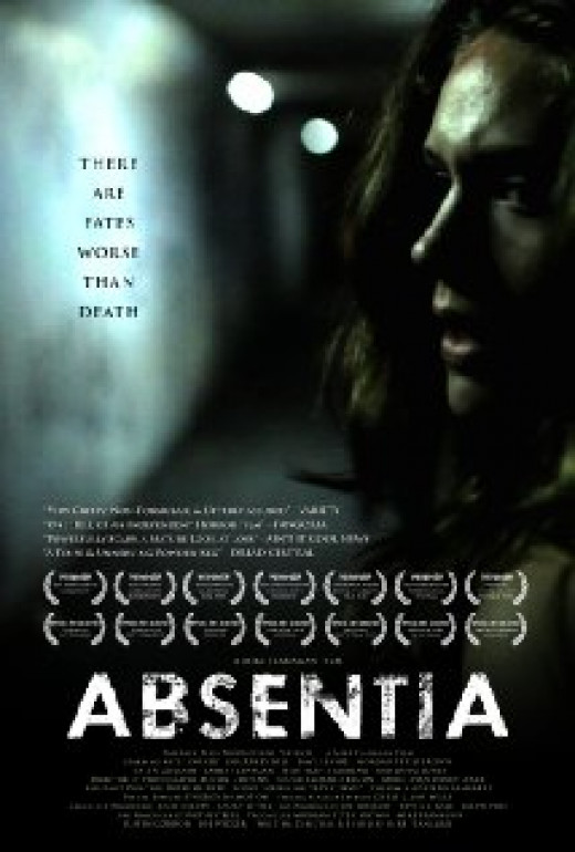Promotional poster for the 2011 film Absentia