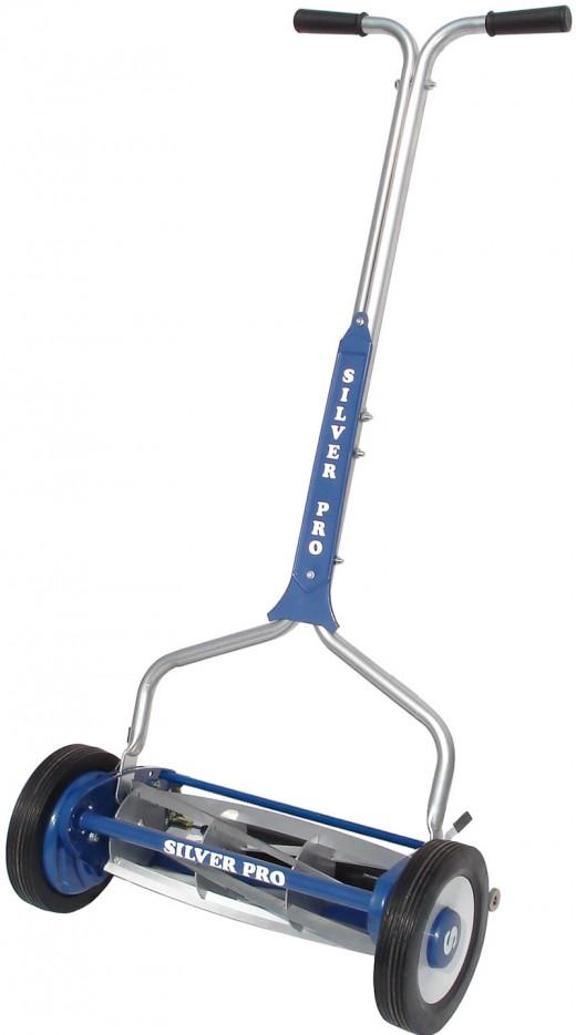 Silver Pro Reel Mower