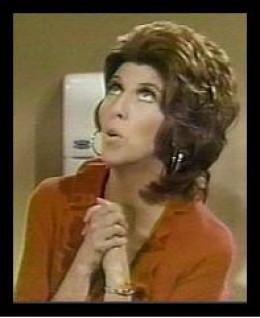 Marcia Wallace as Bob Newhart's Secretary
