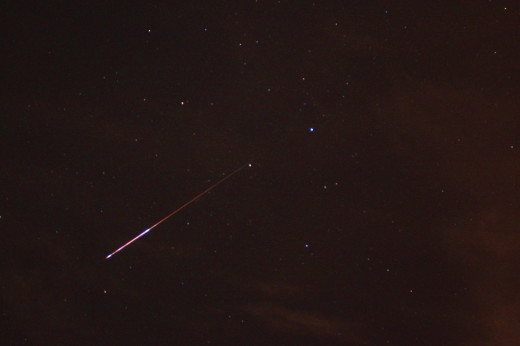 Could meteors like this one cause EVPs?