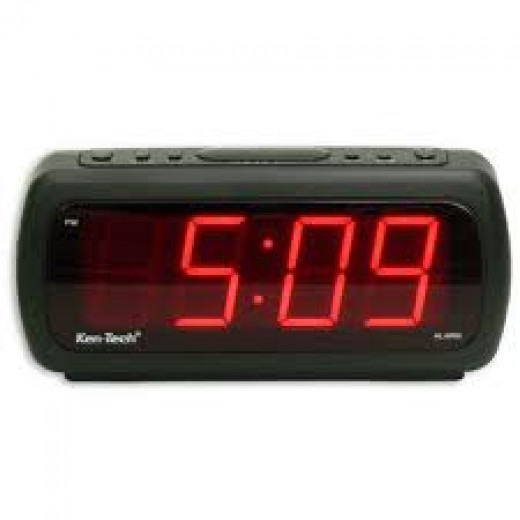 Alarm Clocks are a great device used to wake you up in the morning. Make it play music or some loud sound to awaken you.