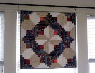 Rose Clearfield's mom made this cool quilt out of neck ties.  Check out her Randomcreativeart website.