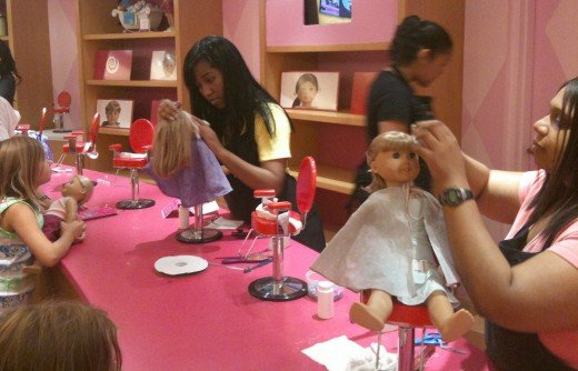 Recreate the American Girl salon experience at home to make your doll as good as new.