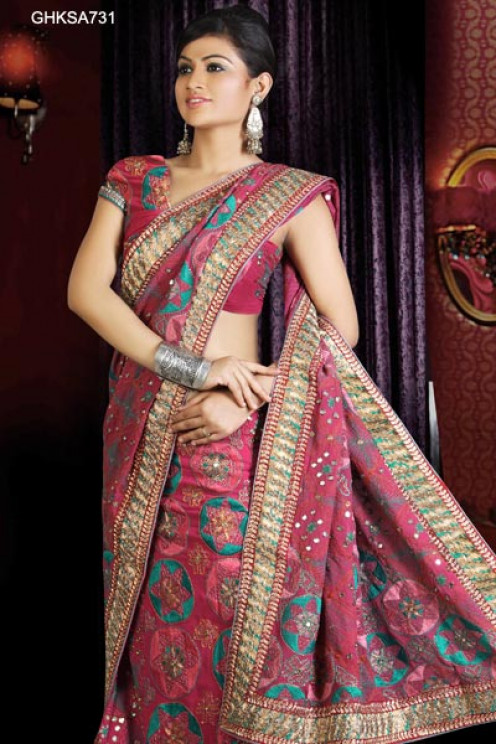 Gorgeous Pinkish Mauve Lehenga Choli from Cbazaar