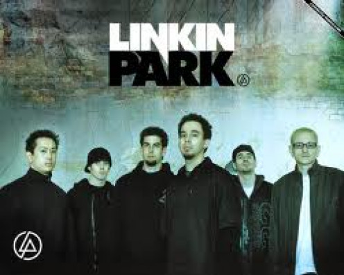 Linkin Park features heavy drum beats in their music. They have had special guests performers with them including hip hop artists.