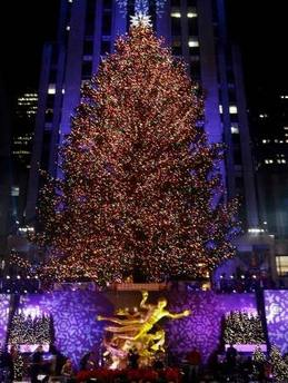 Christmas Tree at the Rockefeller Center