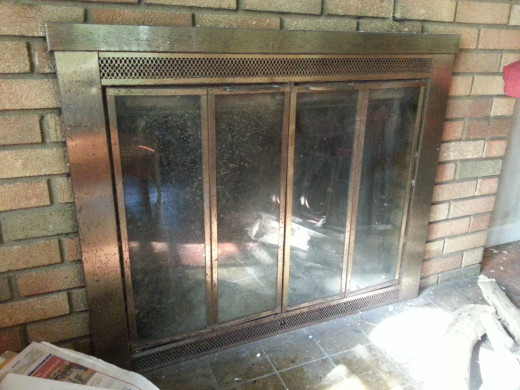 While an old fireplace like this one is nice, it does not produce a whole lot of heat. Our plan is to put in a wood burning stove insert to help us save money this winter.